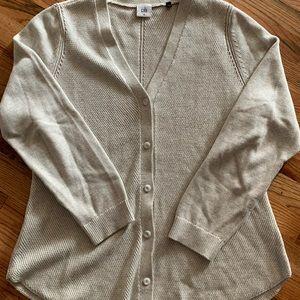 Cabi shirt tail cardigan